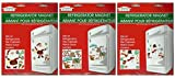 Assorted Christmas and Winter Themed Refrigerator Magnets