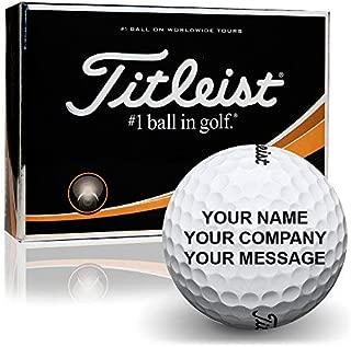 Titleist Prior Generation Pro V1 Personalized Golf Balls