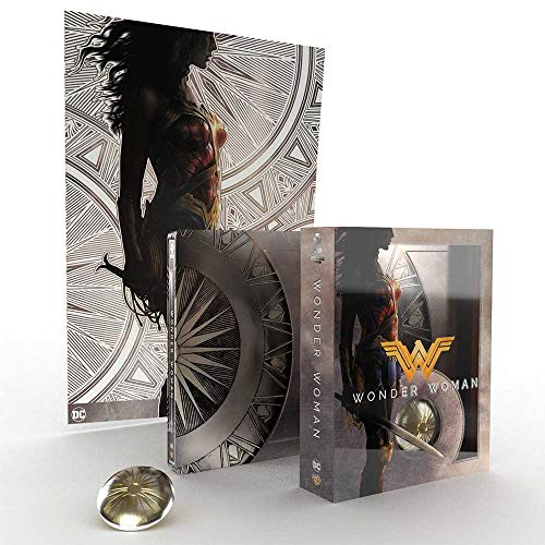 WONDER WOMAN 4K ULTRA HD (TITANS OF CULT) COLLECTORS EDITION / IMPORT / REGION FREE / INCLUDES BLU RAY.