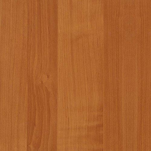 [19,98€/m²] Selbstklebende Folie in Holz-Optik AUF WUNSCHMAß inkl. Rakel & eBook mit Profi-Tipps I Klebefolie Erle Holzdekor für Möbel & Küche – abwaschbar & hitzebeständig I Möbelfolie Holz braun