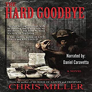 The Hard Goodbye audiobook cover art