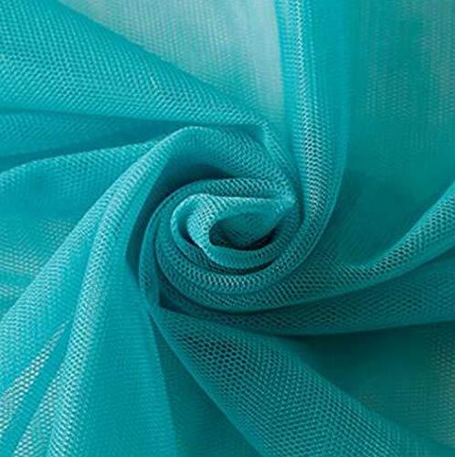 Maille dentelle tissu tulle pour coudre jupe d'été ou bricolage moustique tissu textile à coudre à la maison 90 * 150 cm/pièce TJ0030-1-12-90x150 cm (1 yard)