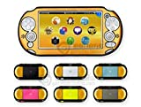 Szjay Metal Aluminum Metallic Protection Hard Case Cover for Playstation Ps Vita 2000 Slim (Gold)