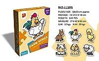 Murakush 子供のおもちゃ 漫画パターン パズル 教育 子供パズル ジグソーパズル 初心者 簡単 楽しむ 子供 挑戦おもちゃ #5