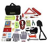 COOCHEER Auto Emergency Kit,Multifunctional Roadside Assistance...