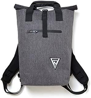 【majestic365mil マジェスティックミル】 2WAYバッグ 鞄 【ミックスグレー】 トートバッグ&ロールトップリュック 防水熱着加工 【アウトドアシリーズ】