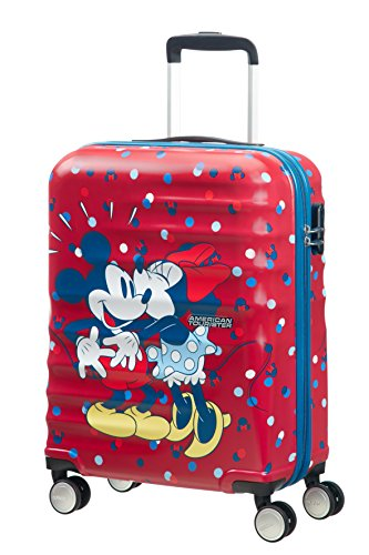 American Tourister Disney Wavebreaker, Spinner, S (55cm-36L), (Minnie Loves Mickey)