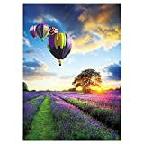 Toreta 1000 Piece Puzzles for Adults,Purple Balloon Jigsaw Puzzles 1000 Pieces,Cool Puzzles for Adults 1000 Piece,Puzzle Games 1000 Piece Puzzle Arts and Crafts for Home Wall Decor 20x28 Inch