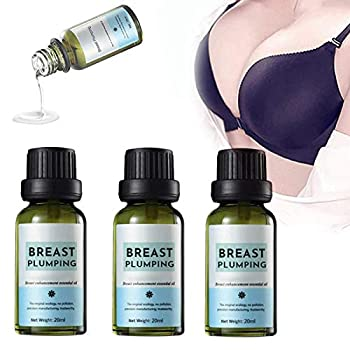 Breast Plumping Essential Oil 3pcs Plant Breast Plumping Oil Natural Firming Enhancement and Enlargement Lifting Bust Serum Oil Fuller Breasts Lifts Your Boobs