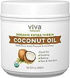 Viva Naturals Organic Extra Virgin Coconut Oil from Viva Naturals