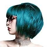 Crazy Colour, crema per capelli semi permanente da 100 ml (blu pavone 45)