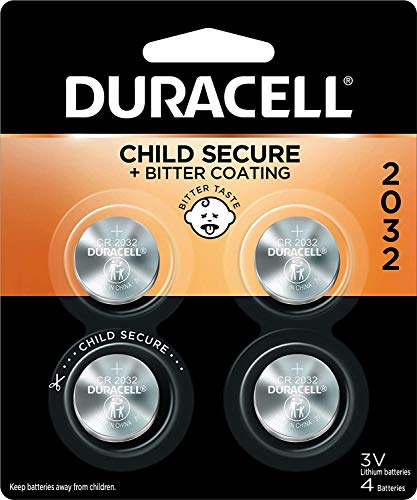 Duracell Lithium Medical Battery, 3V, 2032, 4/Pack, Model: , Hand/Wrist Watch Store
