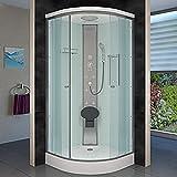 AcquaVapore DTP10-0000 Dusche Duschtempel Duschkabine Fertigdusche 80×80, EasyClean Versiegelung:JA mit 2K Scheiben Versiegelung - 9