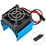 Super Brushless Motor Heatsink with Cooling Fan RS540 550 540 Size 5-6V Electric Engine Heat Sink for Remote...