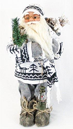 Papá Noel Figura decorativa Navidad Hombres (aprox. 60cm Decoración Papá Noel Santa claus  6modelos distintos a elegir