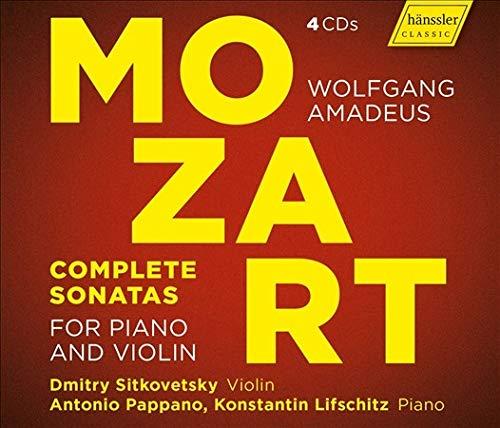 ヴァイオリン・ソナタ選集 ドミトリ・シトコヴェツキー、アントニオ・パッパーノ、コンスタンティン・リフシッツ(4CD)