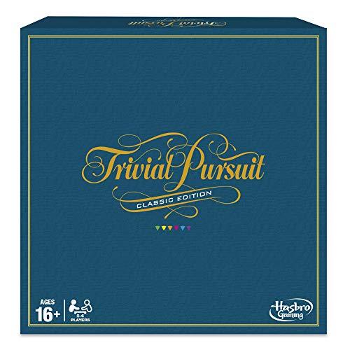 Hasbro Gaming C1940 - Trivial Pursuit Spiel, Classic Edition (englisch)
