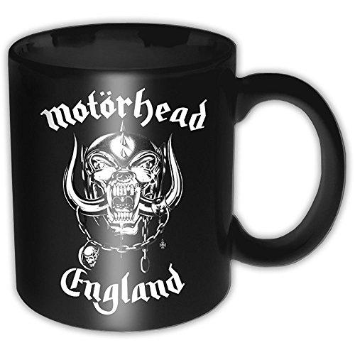 Motörhead - Rock Band Keramik Tasse - England Logo - Geschenkbox