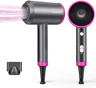 Ionic Hair Dryer KENLOR Professional Hair Dryer for Fast Drying Fast Hairdryer Blow Dryer Negative Ion Portable Hair Dryer Salon and Travel without Damaging Hair