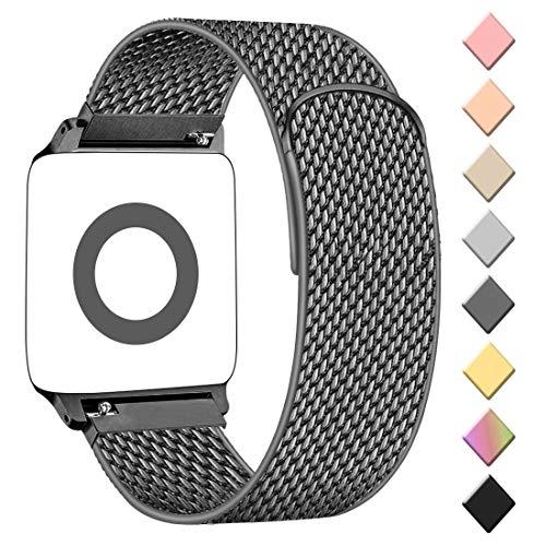 AK kompatibel mit Apple Watch Armband 38mm 40mm 42mm 44mm, Metall Edelstahl Ersatzarmband kompatibel mit iWatch Series 5/4/3/2/1 (#Space Grau, 38mm/40mm)