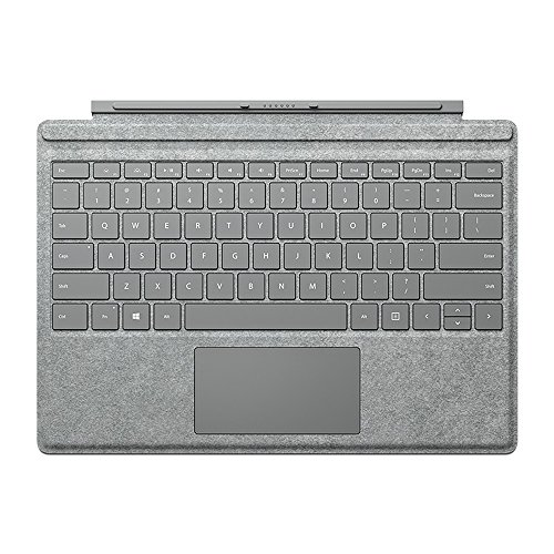 Microsoft QC7-00098 Surface Pro Signature Type Cover - Two-Tone Gray Mélange
