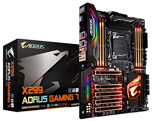 GIGABYTE X299 AORUS Gaming 7 (Intel LGA 2066 Core i9/ ATX/ 3 M.2/...