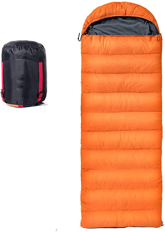 Envelope Sleeping Bag LIUSIYU Duck Daunenschlafsack, 3-4 Saison, -20 Grad C Ultraleicht Daunenschlafsäcke für Backpacking und Ideal für Camping, Wandern B07MSGMYYM  Trend