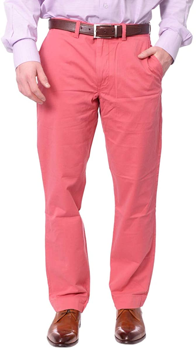 Polo Ralph Lauren Mens Twill Straight Fit Chino Pants