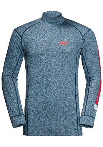Jack Wolfskin Snow Sky Sweatshirt, Felpa da Uomo, Cobalto Scuro, XL
