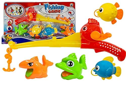Juguetes de Baño, Juego de Pesca para Niños, Juguetes de Pesca para