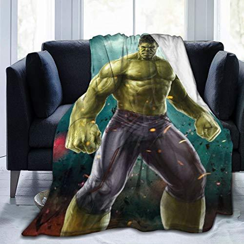 Meng Beasts Hulk Manta Franela súper Suave cómoda