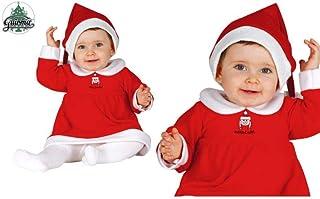 Traje Mama Noel 6-12 Meses Gorro+Vestido