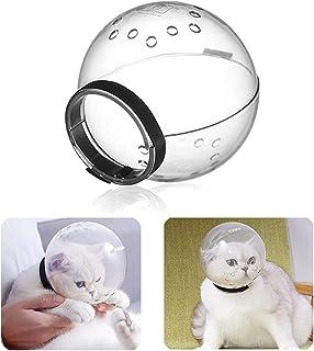 Z-PET Bozal De Gato Mascarilla Facial para Mascotas Transpirable PP Plástico Aseo para Mascotas Prevenir Gatito Anti Morde...