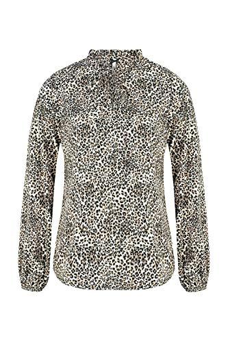 Million X Damen Bluse Animal Print 44, Allover Print