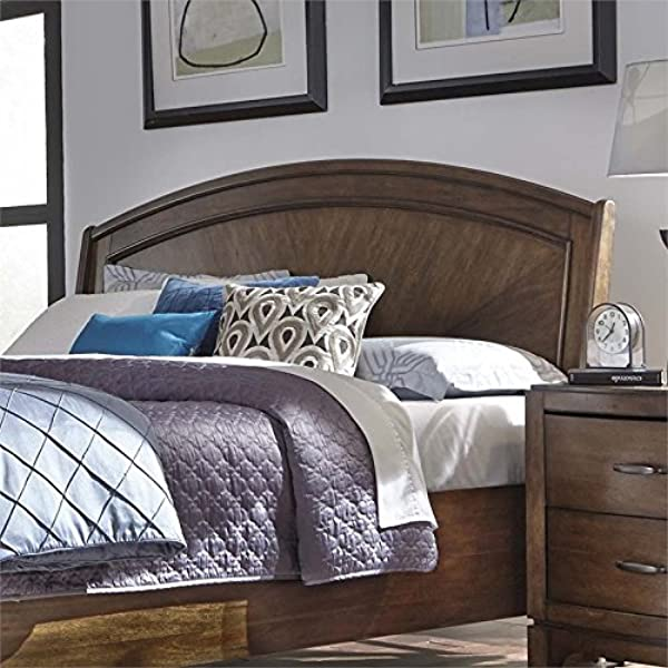 Liberty Furniture INDUSTRIES 705 BR23H Avalon III Queen Platform Headboard Pebble Brown