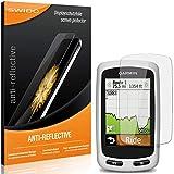 2 x SWIDO Protector de pantalla Garmin Edge Touring Plus Protectores de pantalla de película 'AntiReflex' antideslumbrante