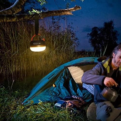 Q-HL Linterna de camping portátil de camping linterna de camping impermeable luz de camping al aire libre luz de camping con USB recargable imán incorporado para acampar senderismo pesca emergencia