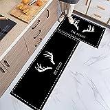 HLXX Lindo tapete geométrico de dibujos animados alfombra de...