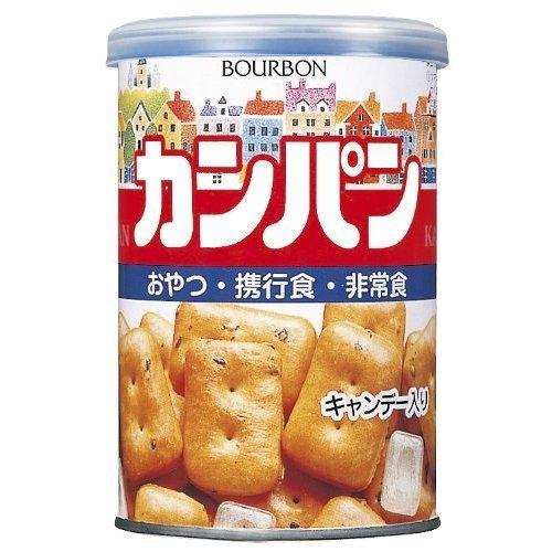 ブルボン カンパン100g缶×24個入×(2ケース)