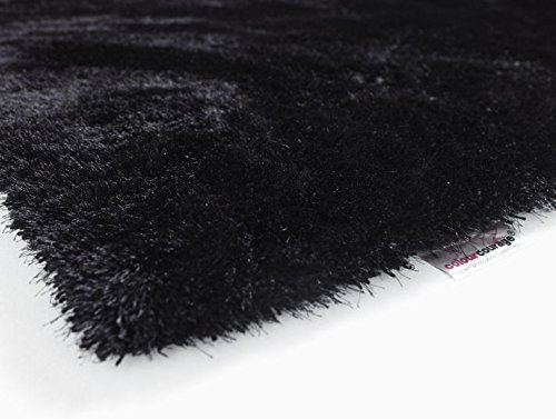 Designer Hochflor Shaggy Lars Contzen colourcourage Black