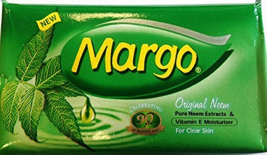 Margo Original Neem Soap Bar-75g (2.65oz) X 3 (75g X 24) by Margo