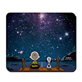 CafePress Spaced Out Peanuts Non-Slip Rubber Mousepad, Gaming Mouse Pad