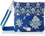 Desigual Fabric Body Bag, Bolsa para cuerpo de Across para Mujer, azul, U