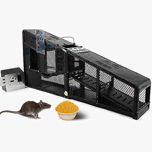 GPFDM 12V Batterie Hochvolt Elektronische Mausefalle - Käfigfalle Für Lebende Tiere Befreien Sie Sich Von Der Maus, Fangen Sie Nagetiere Und Die Professionelle Käfigfalle