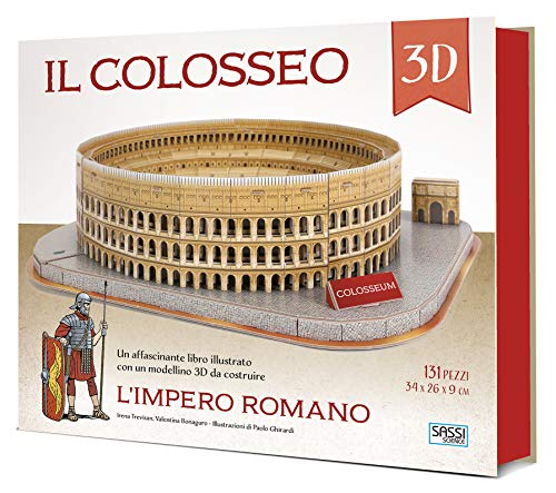 Il Colosseo 3D. L'impero romano. Con Giocattolo