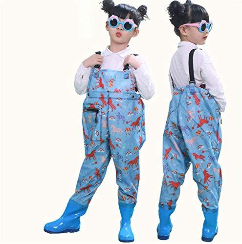 QTDZ Kinder Overall Wasserdicht Waten...
