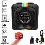 GUIGSI Voiture HD Mini Caméra 360 Degrés Enregistrement Vidéo Support TF Caméras embarquées