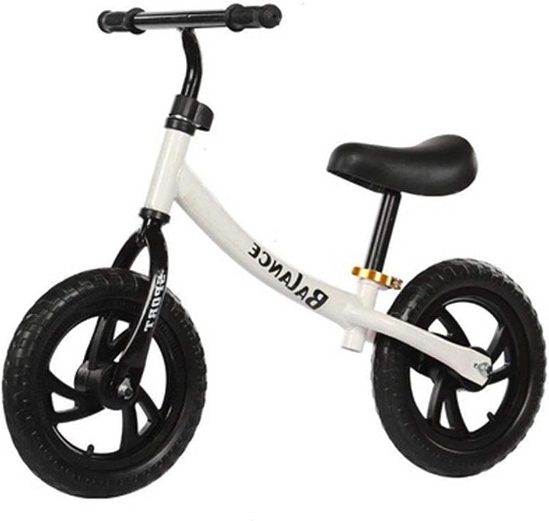 sin mínimo SSRS SSRS SSRS Bicicleta Infantil de Dos Ruedas con Ruedas de 12 Pulgadas y sin Pedales de Acero de Alto Cochebono de 2-6 años (Color   blanco )  tienda de venta