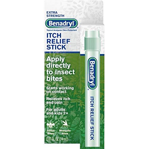 Benadryl Itch Relief Stick 0.47 oz (Pack of 5)