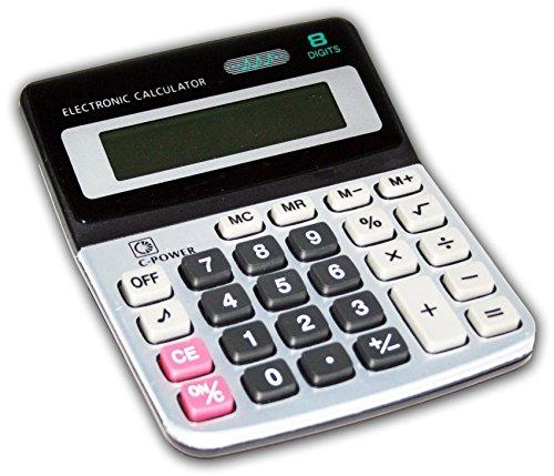 Taschenrechner mit Batterie Tischrechner...